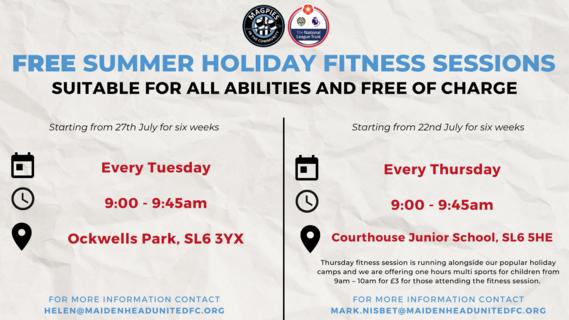 Summer Fitness Poster