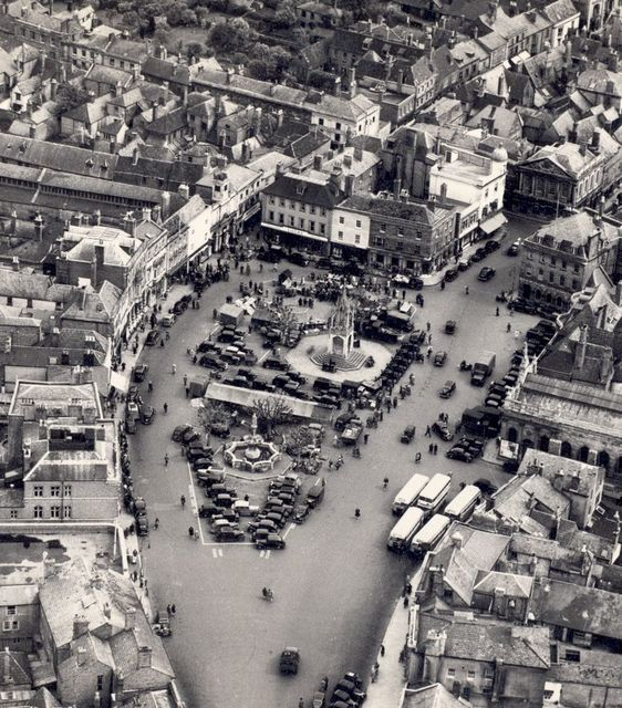 Market Place  in the 1930s
