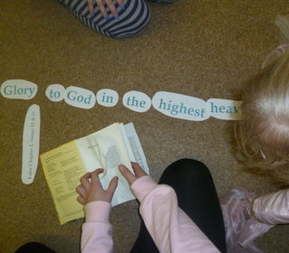 """One Direction"" holiday club - finding referrences from the scriptures"