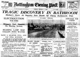 Old Nottingham Evening Post