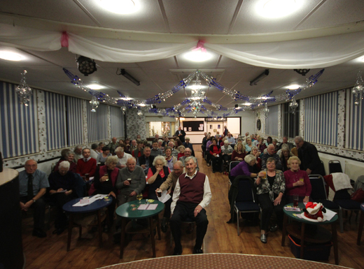 Society Members at the 2015 Christmas Party