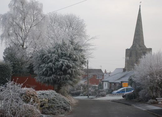 Winter Scene: Far Street