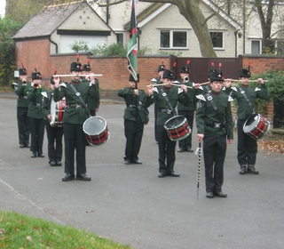 Remembrance Sunday in Bradmore