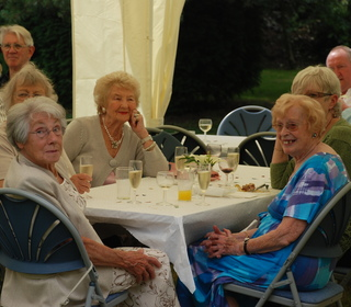 May Hall's 90th birthday party.