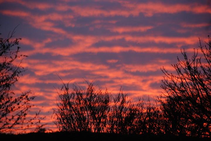 Bradmore sunset.