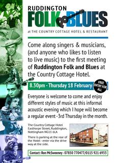 Ruddington Folk & Blues