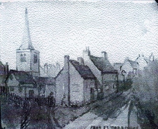 Far St by J A Tong showing Tarrys' cottage and the Entry