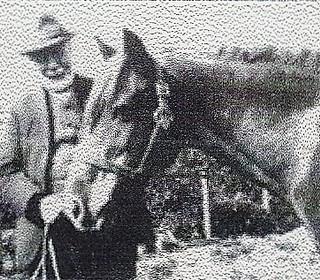 Sam Smedley with Miss Pyatt's pony - photo 1