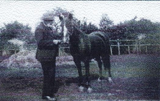 Sam Smedley with Miss Pyatt's pony - photo 2