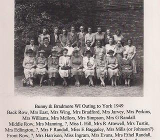 Bradmore & Bunny WI 1949