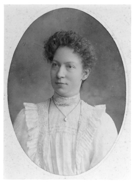 Maria Cripwell aged 21 in 1903