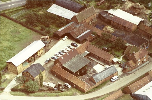 Bonsers Farm, 24.7.1965 (Blackcliffe Farm at top of picture)