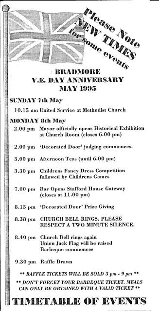 Bradmore VE Day Anniversary 3