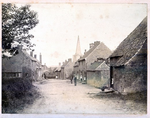 Bradmore Far St  after 1910 (house newly thatched)