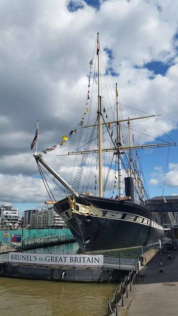 SS Great Britain in all her glory