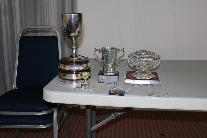 The prestigious Trophys