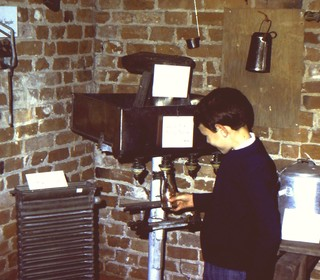 1980 exhibition in Rufford Barn (1)
