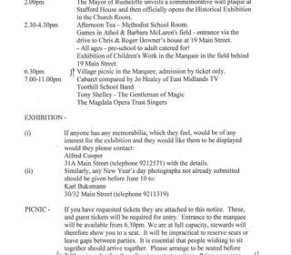 Millennium programme