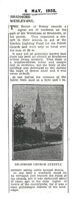 Chapel event 1932
