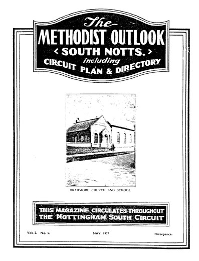 Chapel Methodist Outlook 1937 1