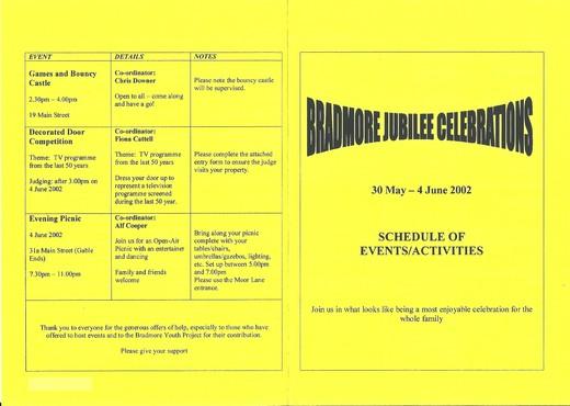 Jubilee Celebrations 2002 1