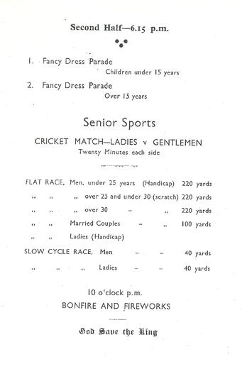 Silver Jubilee Celebrations 1935 3