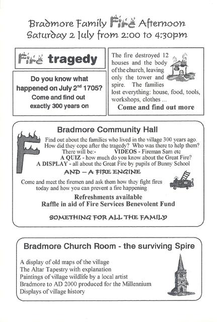 Bradmore Fire