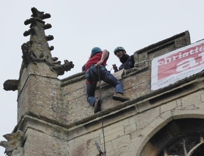 Abseiling St. Mary's