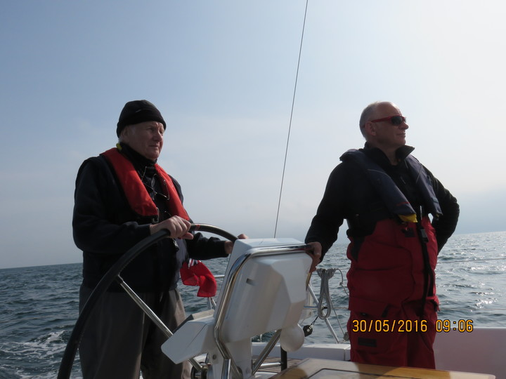 David on the helm