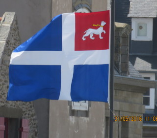 The flag of St Malo