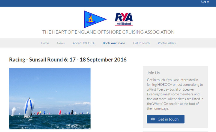 The Heart of England Offshore Cruising Association