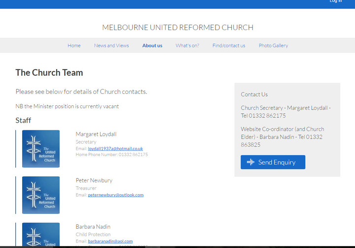 Melbourne United Reformed Church