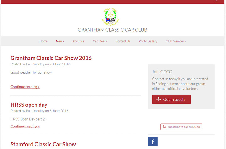 Grantham Classic Car Club