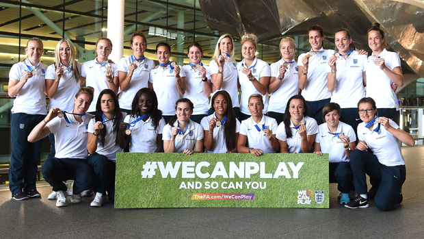 England's woman's team