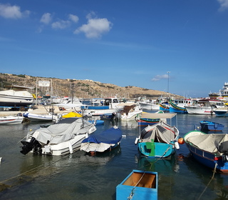 Mgarr - the plethora of local boats