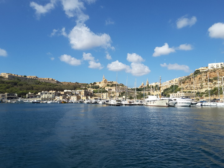 Mgarr - the port town of Gozo