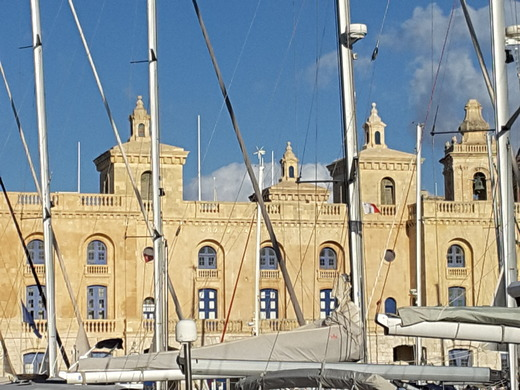 Moored in Grand Harbour