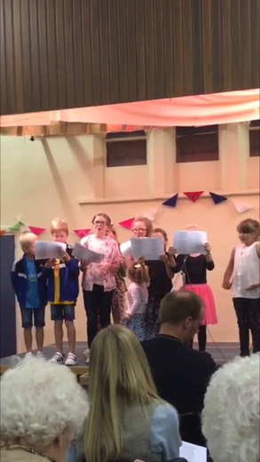 More Choir singing