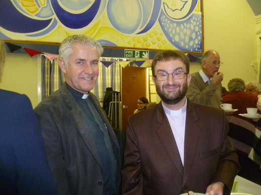 Marcus was Inducted into his new post by Deputy Moderator, Revd Geoffrey Clarke