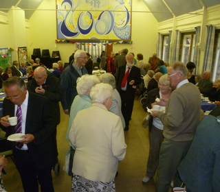 Visitors from around the district & from Marcus's previous Churches attended the celebration