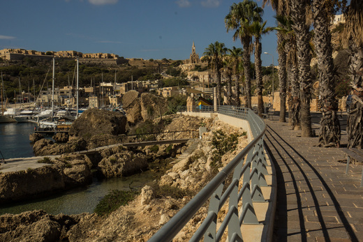Harbour at Gozo