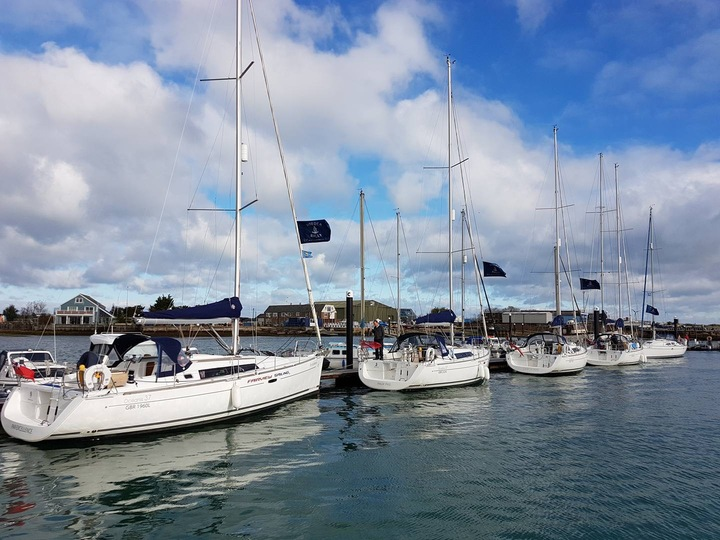Rally Boats in Bembridge