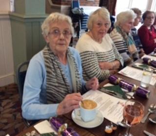Mavis & Betty plan their menu