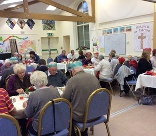 Village lunch Christmas 2016