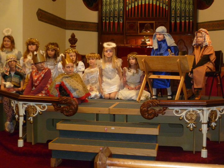The cast of the Nativity