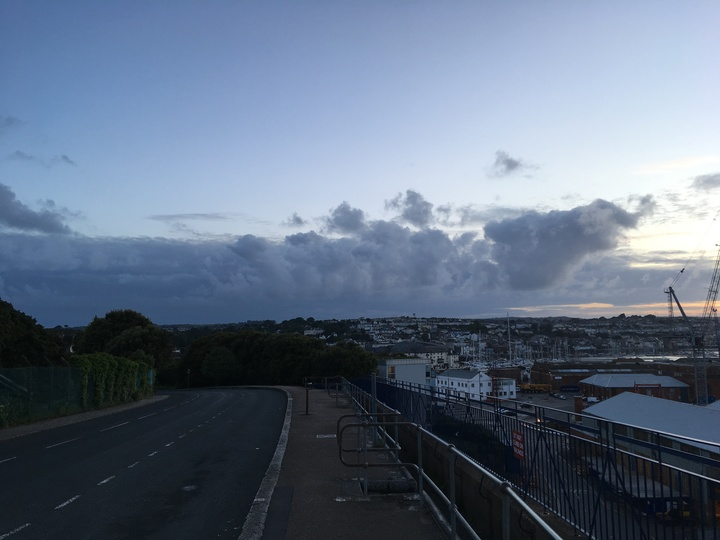 It`s coming (Falmouth)