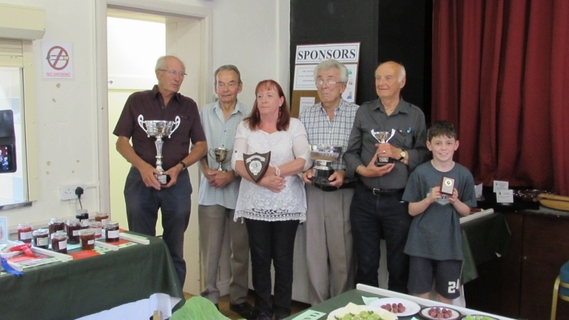Award winners at the Summer Show