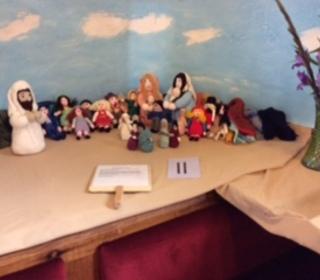 Jesus welcomes the Children