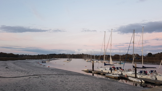 Day 3 - Dusk on The Beaulieu River
