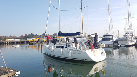 Day 3 - Leaving Cowes